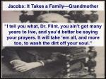 jacobs it takes a family grandmother