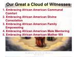 our great a cloud of witnesses