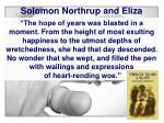 solomon northrup and eliza