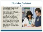 physician assistant