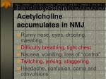 death by sarin acetylcholine accumulates in nmj