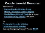 counterterrorist measures