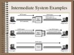 intermediate system examples