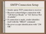 smtp connection setup