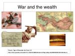 war and the wealth