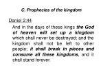 c prophecies of the kingdom