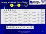 density matrix of three nodes1