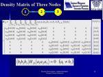 density matrix of three nodes2