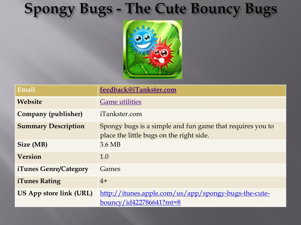 spongy bugs the cute bouncy bugs l.