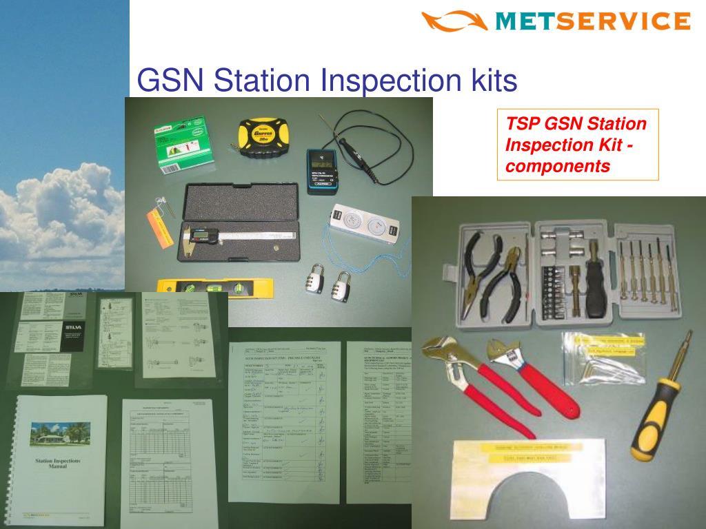 GSN Station Inspection kits