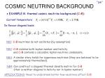 cosmic neutrino background