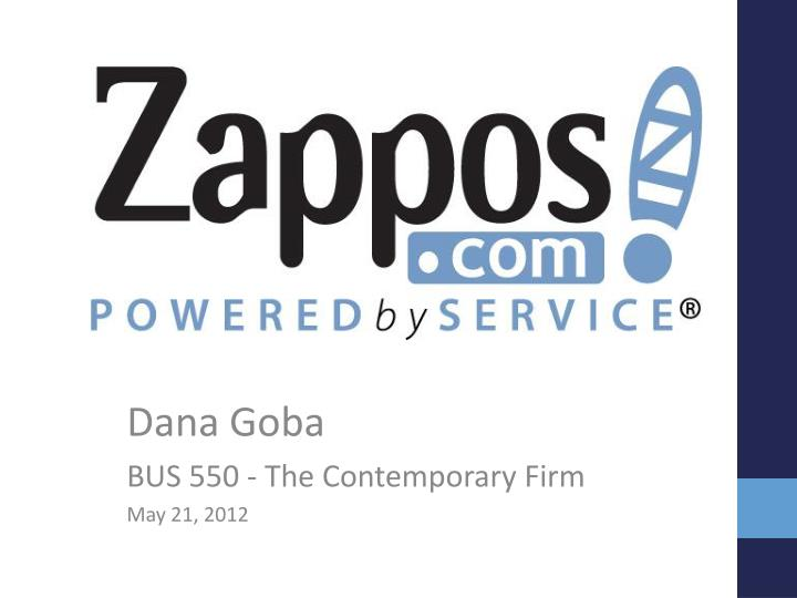dana goba bus 550 the contemporary firm may 21 2012 n.