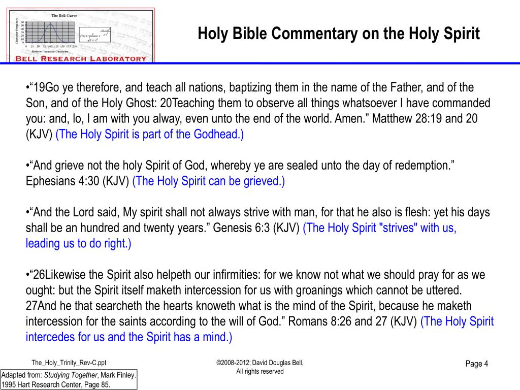 """PPT - Bible Codes Intermediate Series Presents: """" The Holy"""