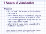 4 factors of visualization1
