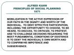 alfred kahn principles of social planning 1971