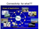 connectivity for what