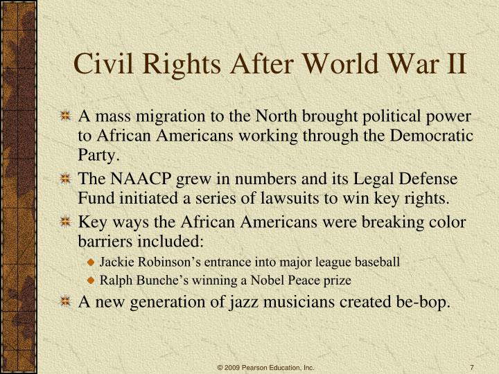 Civil Rights After World War II