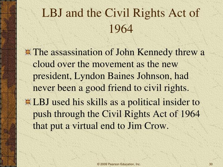 LBJ and the Civil Rights Act of 1964