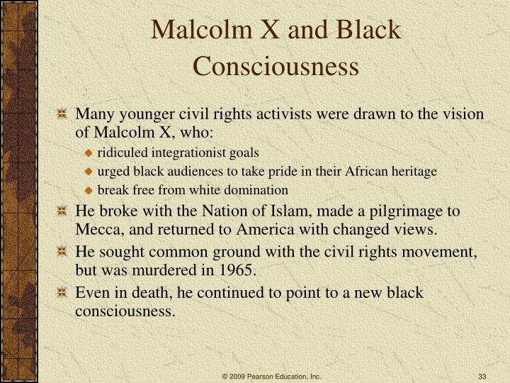 Malcolm X and Black Consciousness