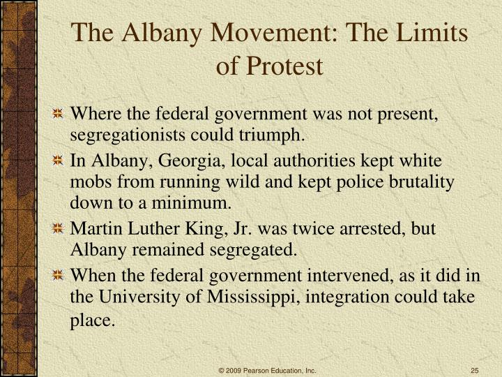 The Albany Movement: The Limits of Protest