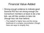 financial value added