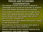 prices and economic coordination