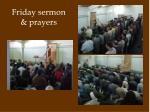 friday sermon prayers