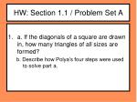 hw section 1 1 problem set a