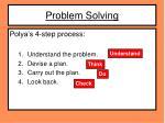 problem solving4