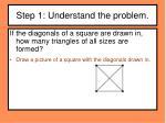 step 1 understand the problem2