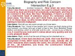biography and risk concern intersection e g 3