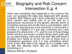 biography and risk concern intersection e g 4