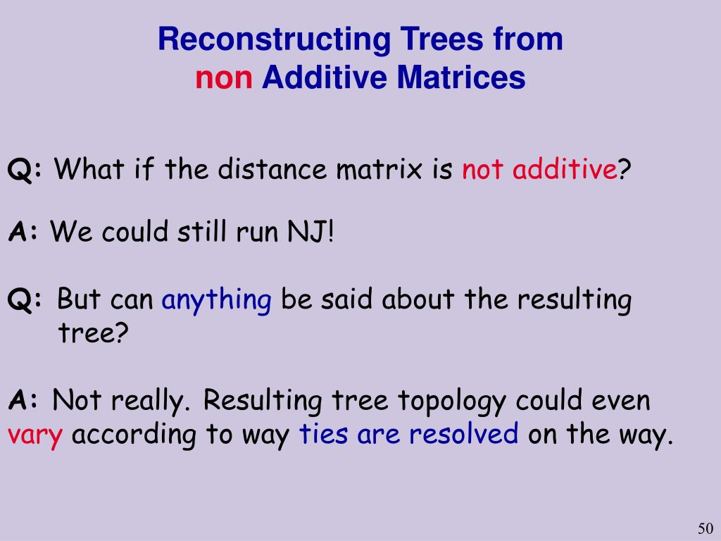 Reconstructing Trees from