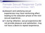 female sexual response cycle whipple and brash mcgreer 19972