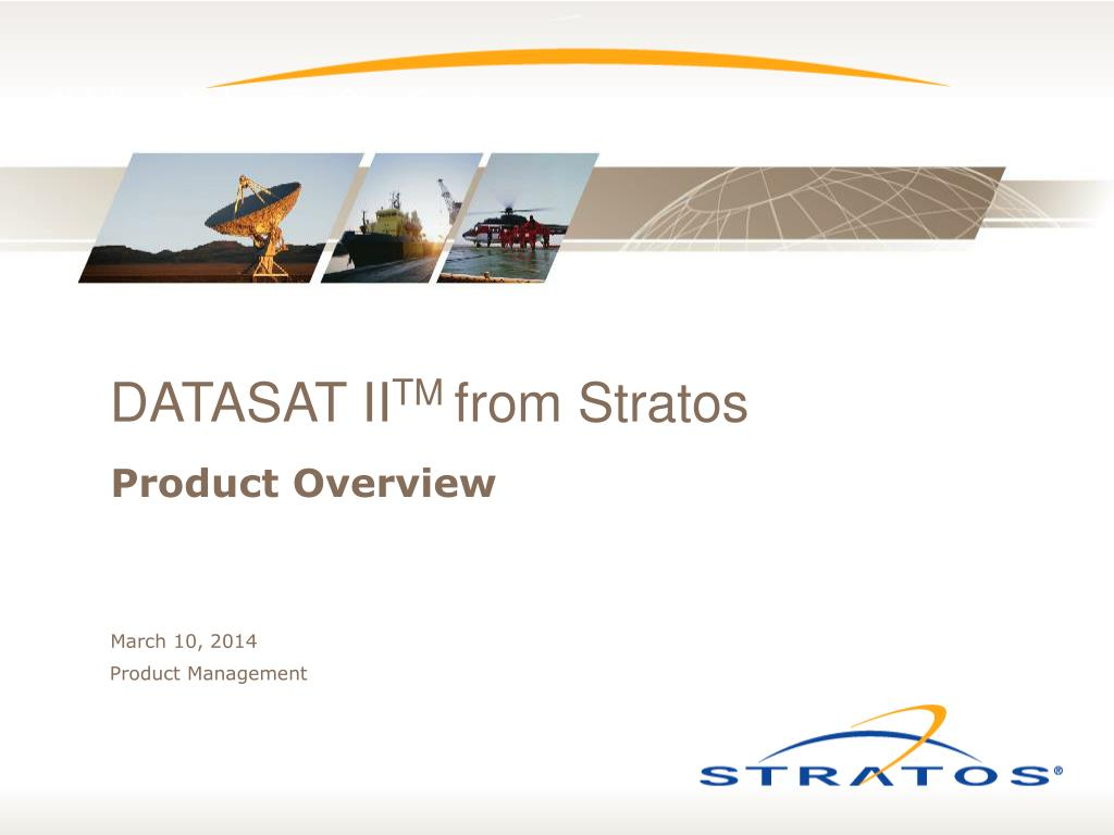 datasat ii tm from stratos l.