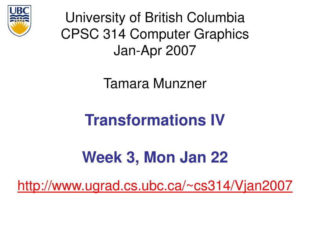 http www ugrad cs ubc ca cs314 vjan2007 l.