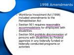 1998 amendments