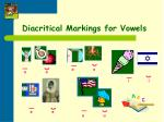 diacritical markings for vowels