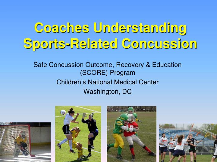 coaches understanding sports related concussion n.