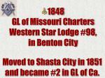 1848 gl of missouri charters western star lodge 98 in benton city