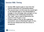 section 988 timing