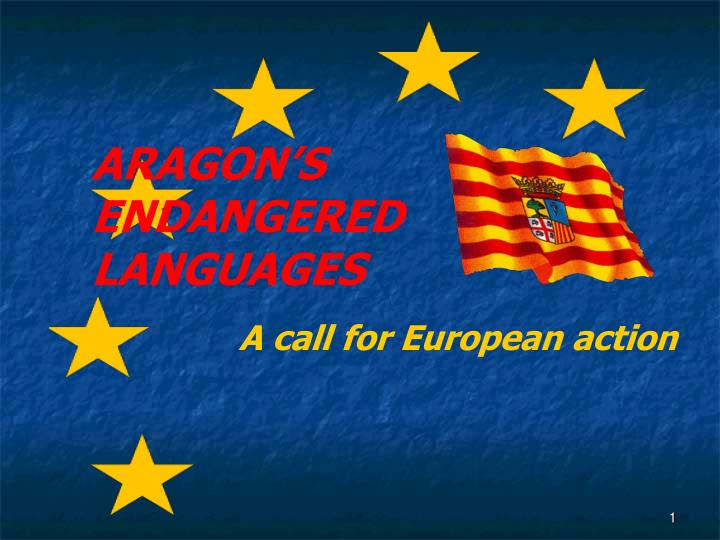 a call for european action n.