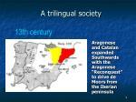 a trilingual society3