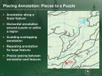 placing annotation pieces to a puzzle1