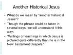 another historical jesus1