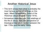 another historical jesus2