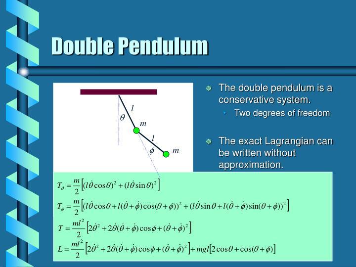 Double pendulum1