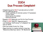 idea due process complaint1