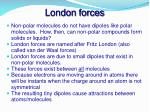 london forces