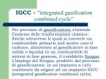 igcc integrated gasification combined cycle